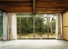 concrete floor, wood roof / second floor