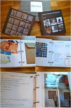Easy baby book - 25 Clever DIY Ways To Organize With Binders