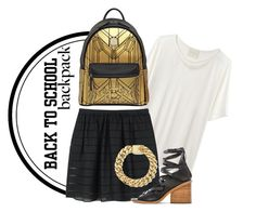 """""""Back to School"""" by cherieaustin ❤ liked on Polyvore"""