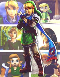 Hyrule warriors//windwaker//skyward sword//twilight princess//A Link between worlds//ocarina of time ♡