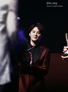 Heart Capturing Kim Junsu ~ 3rd edaily culture awards ❤️ JYJ Hearts
