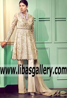 #Ivory #dreams & #divine tapestries! This #sublime filigree #jacket is #perfectly tailored and #tastefully #sprinkled with #pearls! #Eidcollection  will be #available #online #beautifuloutfit #womanoutfit #classydress #classicwomen #womenclothings #dresswomen #Elan #Chéri #bridalcouture #onlinestore #UK #USA #Canada #Australia #France #Germany #SaudiArabia #Dubai #UAE #Bahrain #Kuwait #Norway #Sweden #NewZealand #Austria #Switzerland #Denmark #Ireland #Mauritius #Netherlands