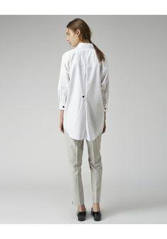 Bouton chemise dos