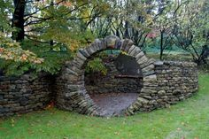 As fall approaches I've been thinking and dreaming of the gorgeous moon gate my sweetheart C built last year. It's...