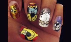 Famous Dogs - Nail Art Gallery