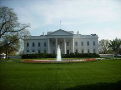 White House in Washington DC. North Lawn View. 2010 •Fischer Photography•
