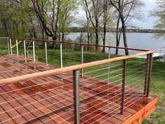 Stainless Steel Deck Railings With Cables