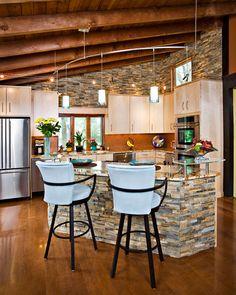 Cucina in muratura moderna n.04