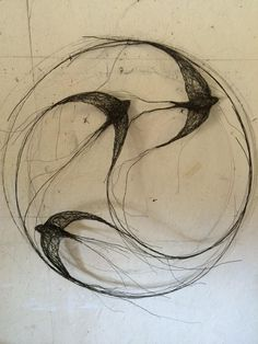 Circle of swifts www.celia-smith.co.uk More