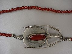 Violin Beetle Necklace