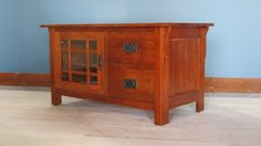 """Mission style TV cabinet 41""""W"""