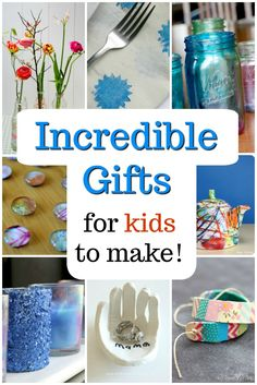 Awesome homemade gift ideas for kids to make! Great presents for Mom, Dad, and holidays! Awesome homemade gift ideas for kids to make! Great presents for Mom, Dad, and holidays! Learning Christmas Gifts, Christmas Presents For Kids, Presents For Mom, Christmas Gifts For Mom, Homemade Christmas Gifts, Christmas Crafts, Handmade Christmas Gifts From Children, Handmade Gifts For Men, Handmade Ideas