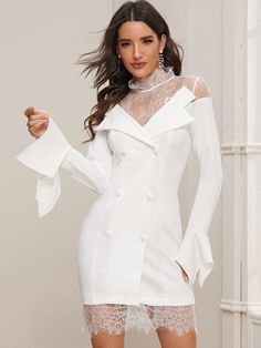 Qty & & (Only left! Dress P, Boho Dress, Dress Shoes, Elegant Dresses, Cute Dresses, Dresses With Sleeves, Office Dresses, Dresses Online, Bell Sleeve Top