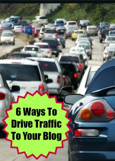 Drive traffic to your website! Try these 6 ways to drive traffic to your website #SEO #blogging #traffic