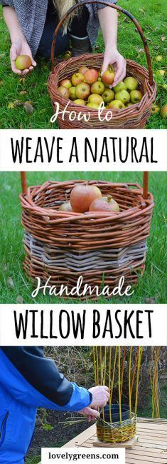 How to Weave a Natural Willow Basket