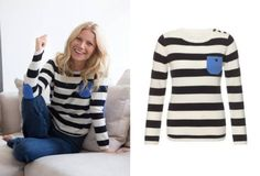 Chinti and Parker for goop 'One Pocket Stripe' jumper
