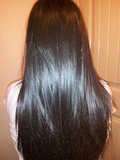 Get longer silkier hair with Brazilian Straight Hair Weave and Hair Bundles. Long Silky Hair, Long Dark Hair, Really Long Hair, Super Long Hair, Beautiful Long Hair, Gorgeous Hair, Straight Weave Hairstyles, Braids For Long Hair, Hair Looks