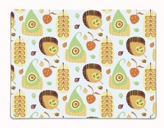 Exotic Fruit - Large Magnetic Notice Board