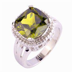 Empsoul 925 Sterling Silver Women's Engagement Ring Plated 12*12mm Peridot https://www.amazon.com/Empsoul-Sterling-Silver-Womens-Engagement/dp/B01H3H542G?ie=UTF8&*Version*=1&*entries*=0