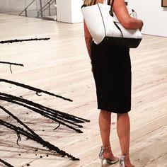 #Fashion + #Art kind of wknd #Celine #letsluxe #handbags #Nyc
