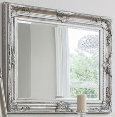 Silver Harrow Wall Mirror above fireplace rectangular Silver Harrow Wall Mirror Wall Mirrors With Storage, White Wall Mirrors, Rustic Wall Mirrors, Contemporary Wall Mirrors, Round Wall Mirror, Mirror Set, Mirror Floor, Mirror Shelves, Decorative Mirrors