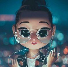 New Digital Art Girl Illustration 20 Ideas Cute Girl Wallpaper, Cute Disney Wallpaper, Cute Cartoon Wallpapers, Wallpaper Art, Trendy Wallpaper, Drawing Cartoon Characters, Cartoon Drawings, Cartoon Art, Cartoon Ideas