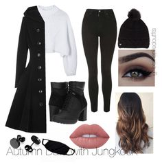 Pin by andrea garcia on bad girl in 2019 bts inspired outfits, fashion outf Kpop Fashion Outfits, Stage Outfits, Mode Outfits, Korean Outfits, Outfits For Teens, Teenage Outfits, Hipster School Outfits, Cute Casual Outfits, Simple Outfits