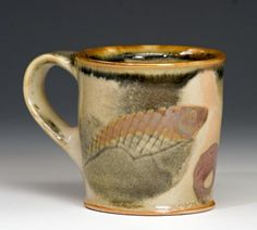 Bruce Gholson's pottery on display at Hill Center at the Old Naval Hospital