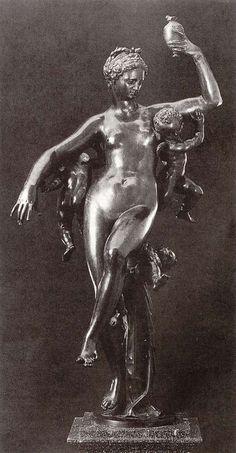 Adriaen De Vries, Psyche with Pandora's Box 1593 Bronze, height 187 cm Nationalmuseum, Stockholm