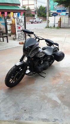 Harley Davidson News Harley Dyna, Harley Davidson Dyna, Dyna Club Style, Thug Style, Dyna Super Glide, Street Bob, Bobber Motorcycle, Big Rig Trucks, Cool Bikes