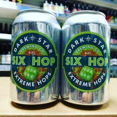 New beer. 6 Hop IPA from @darkstarbrewco in stock now