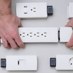 Youmo modular power strip provides customizable sockets 2/24/16 The Youmo will come with US or EU base cords in a variety of colors and lengths