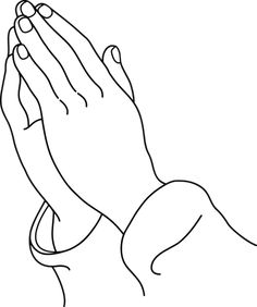 praying hands clipart free clip art t imagenes biblicas rh pinterest com praying hands clip art black and white praying hands clipart for funeral