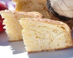 Gâteau à la noix de coco râpée