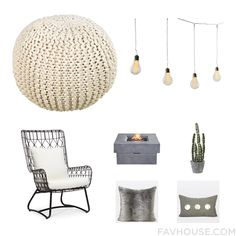 Home Decor Tricks With Surya Ottoman Battery Operated String Light Palecek Outdoor Chair And Outdoor Propane Fire Pit From August 2016 #home #decor