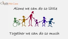 #Alone we can do so little.#Together we can do so much