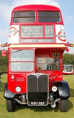 London Transport, London Travel, Public Transport, Volkswagen Bus, Vw Camper, Vans Vw, Rt Bus, Bus Art, Greenwich London