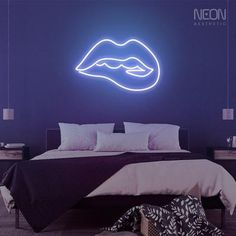 Sexiness embodied in neon - if you want your walls to pop with color and personality, this is the sign for you. Neon Sign Shop, Shop Signs, Neon Home Decor, Flexible Tubing, The Heat, Acrylic Board, Neon Aesthetic, Custom Neon Signs, Led Neon Signs