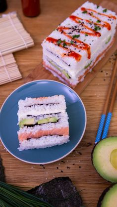 food videos & food _ food recipes _ food cravings _ food videos _ food photography _ food and drink _ food recipes for dinner _ food aesthetic Sushi Recipes, Dessert Recipes, Cooking Recipes, Cake Recipes, Dinner Recipes, Healthy Recipes, Tasty Videos, Food Videos, Sushi Cake