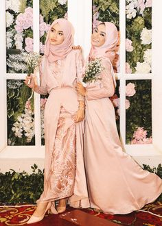 53 Trendy Dress Hijab Party Classy Source by outfits hijab Dress Brokat Muslim, Muslim Dress, Kebaya Hijab, Kebaya Dress, Party Dress Outfits, Prom Outfits, Hijab Prom Dress, Prom Dresses, Hijabi Gowns