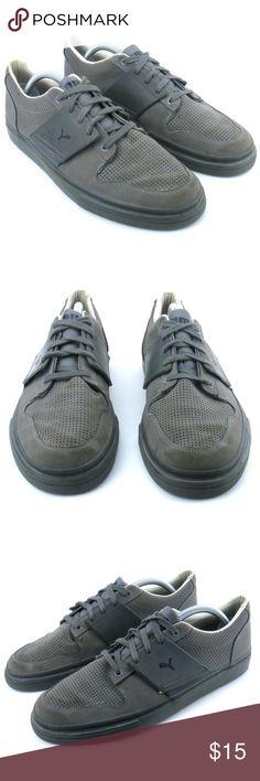 6a6f00de2abf7 Puma El Ace Gray Classic Fashion Sneakers Shoes 10 Puma El Ace Mens Classic  Fashion Sneakers