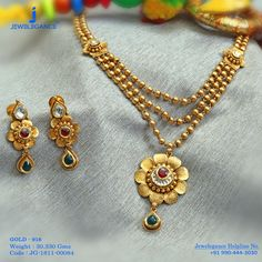 Gold 916 Premium Design Get in touch with us on Gold Mangalsutra Designs, Gold Earrings Designs, Gold Jewellery Design, Necklace Designs, Designer Jewellery, Gold Necklace Simple, Gold Jewelry Simple, Gold Necklaces, Gold Bangles