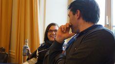 Franziska und Florian im Gespräch