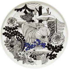Marimekko - Oiva/Veljekset Plate 20cm