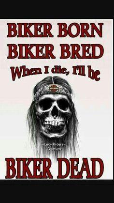 Biker till Death.