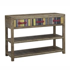 Shop our stylish range of rustic oak, contemporary glass and black and white glass console tables. Enjoy FREE and fast delivery on orders over Shop online now! Homestead Living, Furniture Direct, Reclaimed Wood Furniture, Drawer Handles, Furniture Inspiration, Console Table, Storage Spaces, Entryway Tables, Shelves