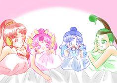 girlsbydaylight:  パジャマパーティー by はな on pixiv