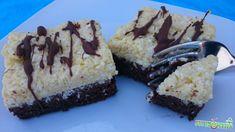 Bounty kocka - FittKonyha Sweets, Healthy, Cake, Recipes, Food, Sweet Pastries, Pie, Gummi Candy, Mudpie