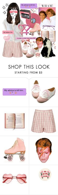 """""""big ol gay"""" by cecilpalmer ❤ liked on Polyvore featuring Ollio, Topshop, Floyd, Warehouse and Moxi"""