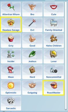Bomb A** Traits | PT 2 SO! Here's the second part to my random traits package. There are 5 traits included in this .zip file (some have buffs but not all of them, didn't want to overdo it). To use...